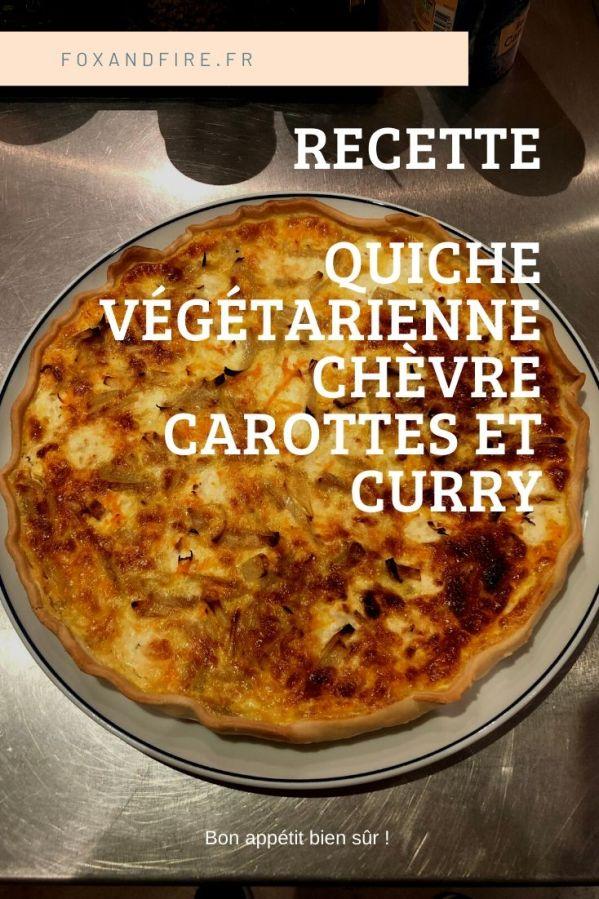 Recette de quiche végétarienne et légère