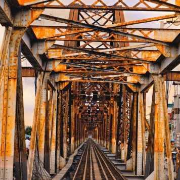 Pont Eiffel à Hanoï