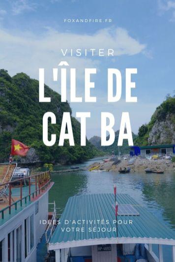 Visiter l'île de Cat Ba