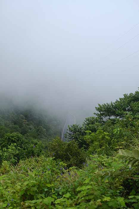 Col des nuages entre Da Nang et Hué