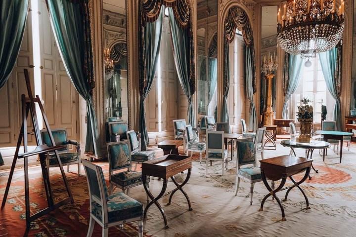 Salon du grand Trianon Versaille