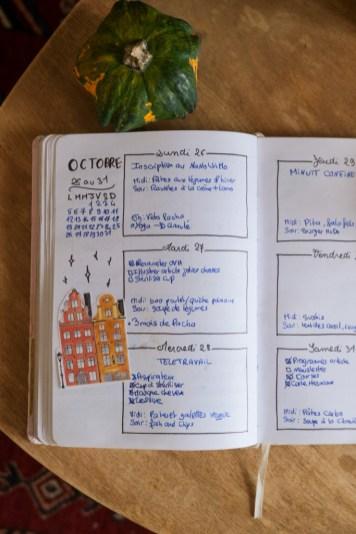 Inspiration scandinave bullet journal