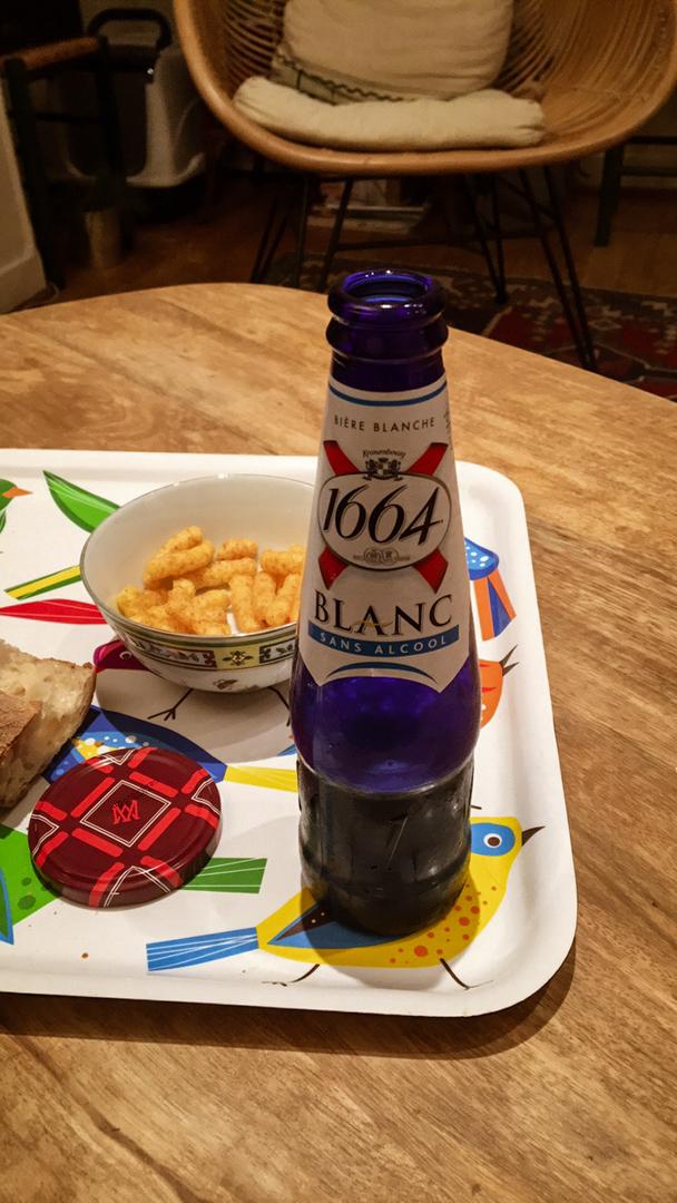 1664 bière blanche sans alcool