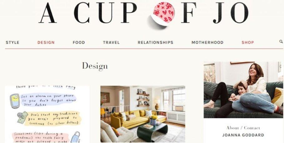 Lifestyle blog example
