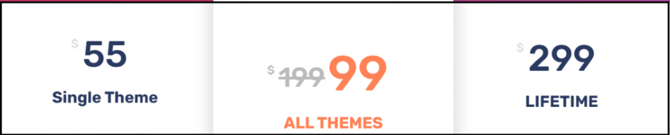 Accesspress themes Pricing
