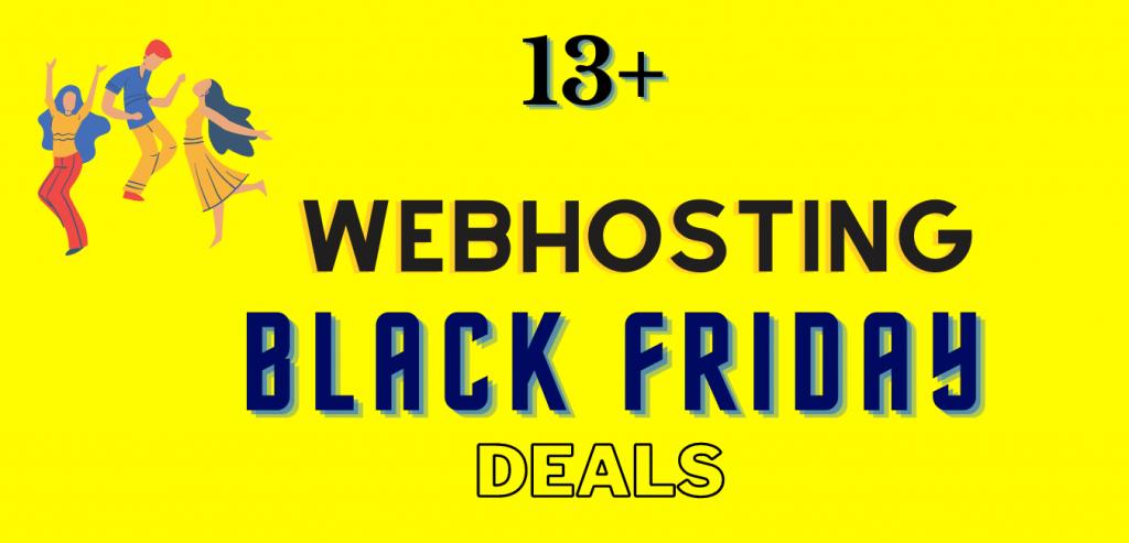13+ Web Hosting Black Friday Deals