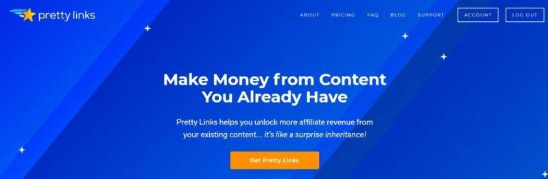 Pretty links - WordPress affiliate plugin