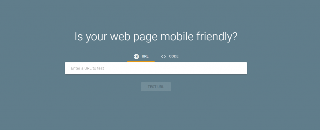 Check mobile friendly pages