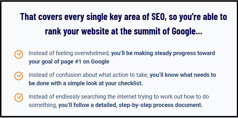 Key importance of SEO checklist