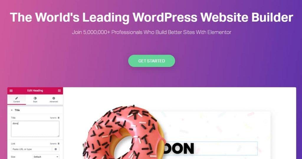 Elementor Best WordPress page builder