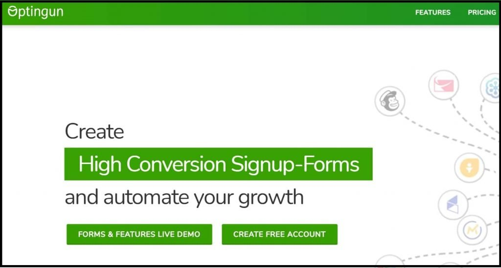 OptinGun Lead generation WordPress tool