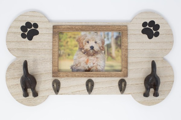 FoxCarr Wall Mount Dog Leash Holder