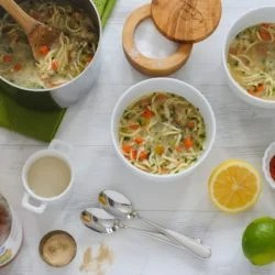 Culinary School Lesson: Season Your Soup Like You Mean It. How to season soup (or any food) for maximum flavor and not just a ton of added salt. | foxeslovelemons.com