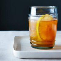 Meyer Lemon-Vanilla Bean Bourbon Smash   www.foxeslovelemons.com