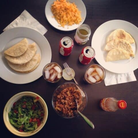 Classic tacos for two (or a big group!) in exactly 20 minutes.   foxeslovelemons.com