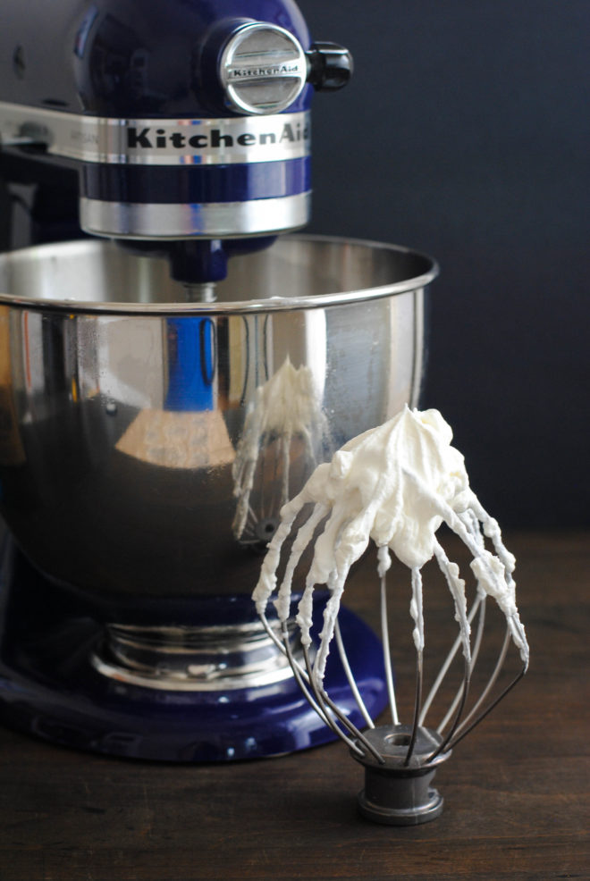 Culinary School Lesson: Whip It Good - The secrets to making fluffy egg whites for meringues, and perfect homemade whipped cream. | foxeslovelemons.com