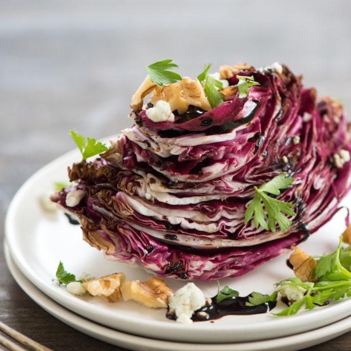 Roasted Radicchio Wedge Salad