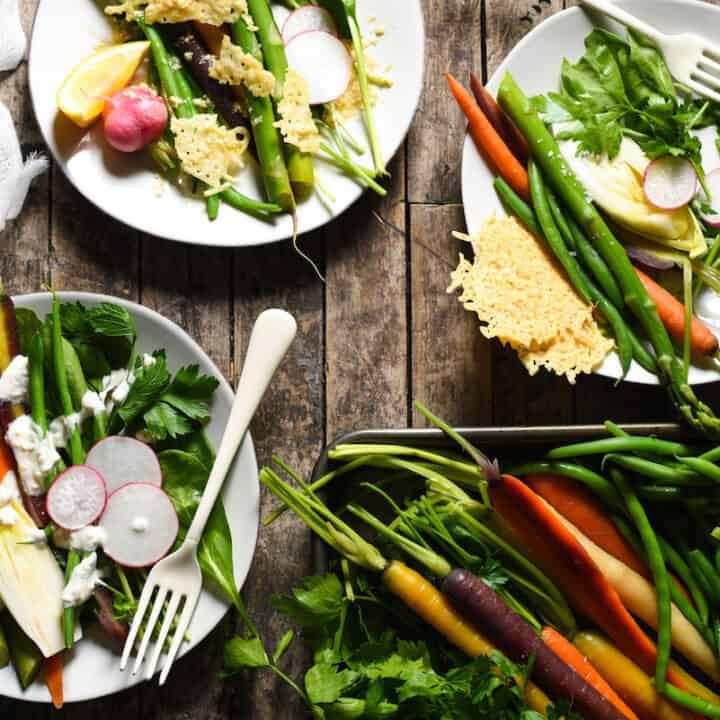 DIY Spring Salad Board