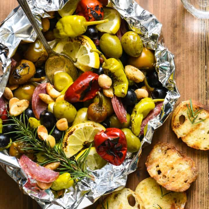 Grill-Roasted Antipasto