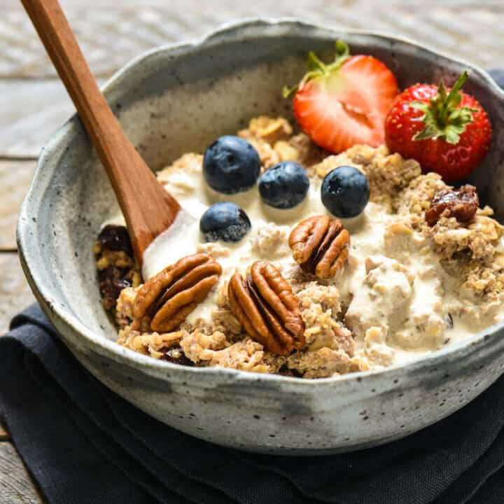 Pecan Milk Breakfast Porridge