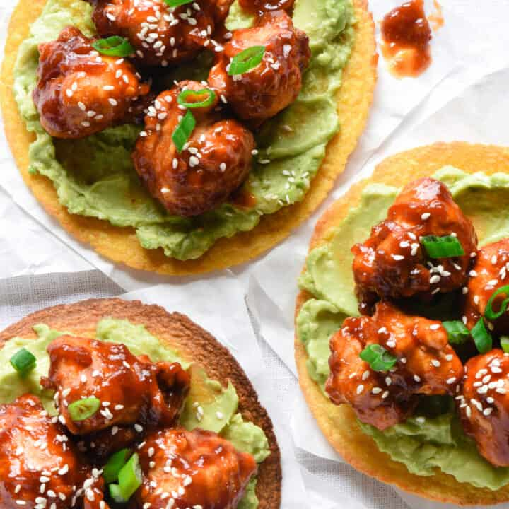 General Tso's Cauliflower Tacos