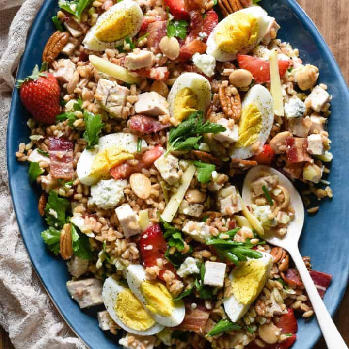 Really Good Farro Salad