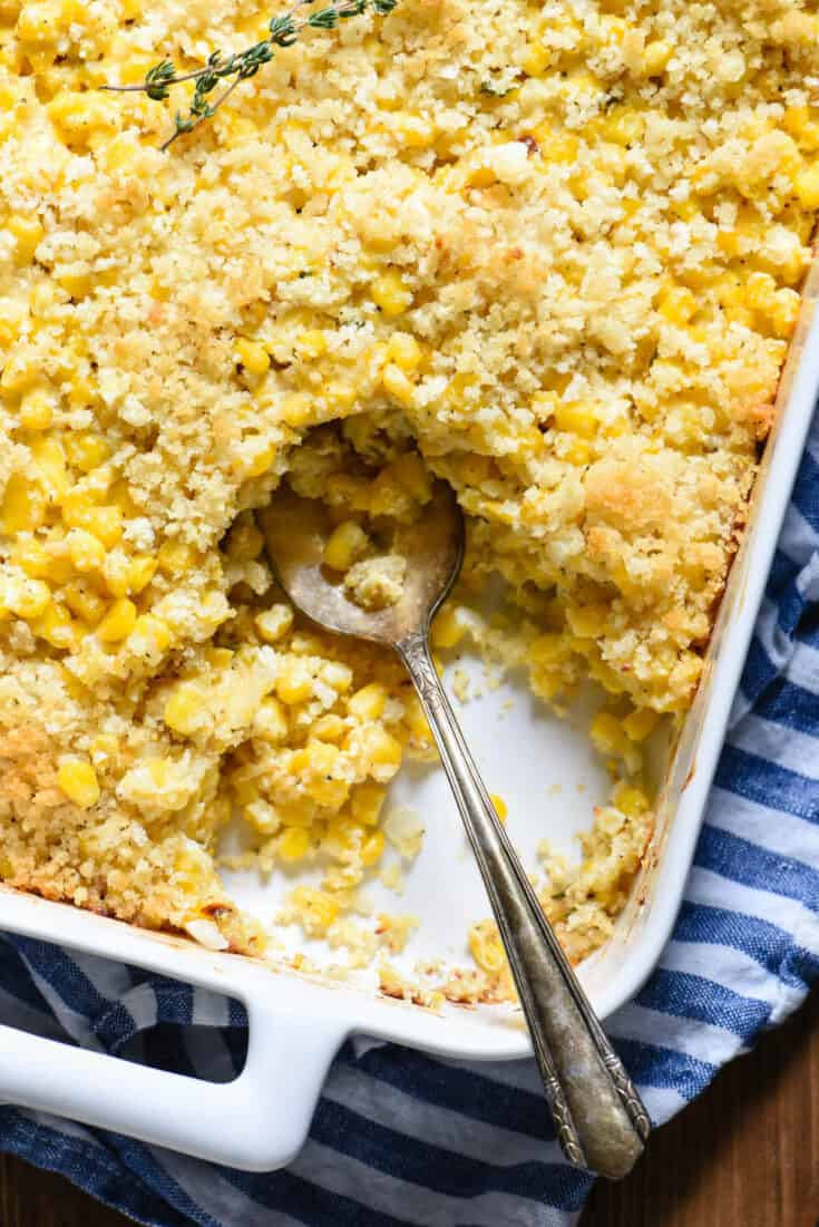 Corn Casserole with Cheese