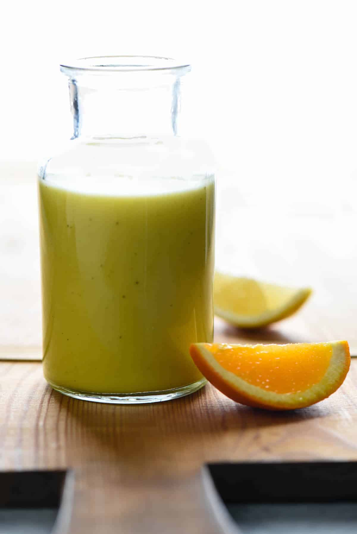 Forget store bought salad dressing. This homemade Citrus Salad Dressing recipe takes just 5 minutes and will be healthier, fresher and more delicious. | foxeslovelemons.com