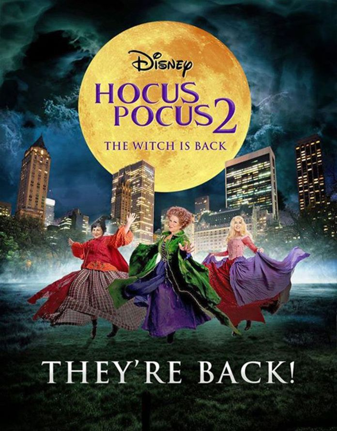 """Rich search results on Google when searched for """"Hocus Pocus 2"""""""