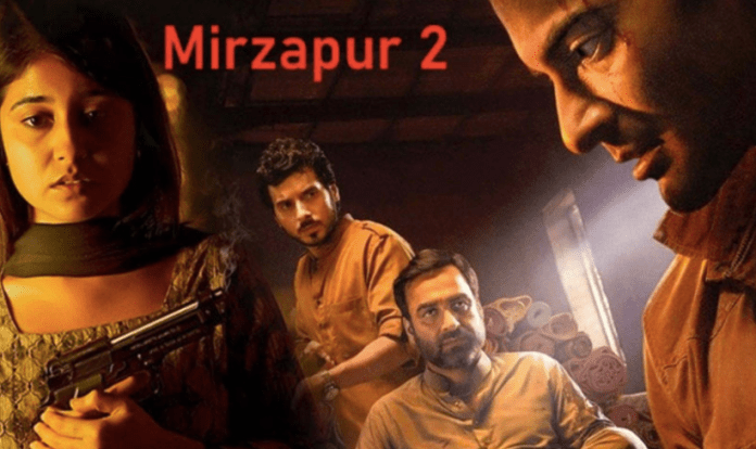 """Rich search results on Google when searched for """"Mirzapur season 2"""""""