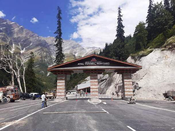 PM Modi inaugurated the Atal tunnel