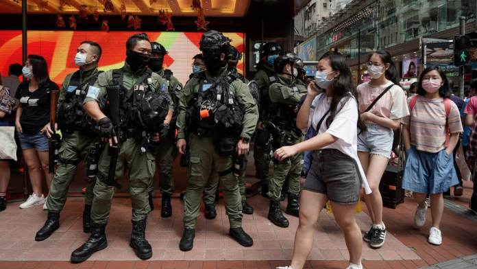 Hong Kong Cops