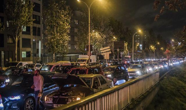 Second COVID-19 Lockdown in France: Paris witnesses longest traffic-jam