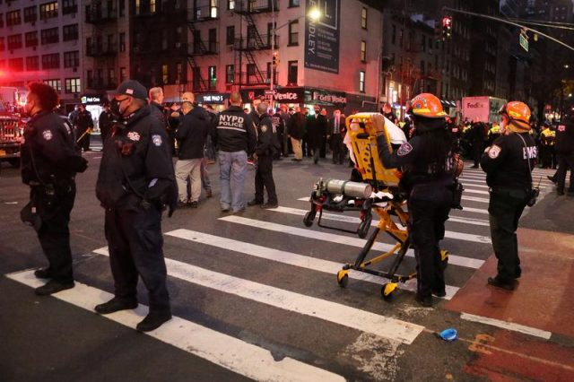 Manhattan Black Lives Matter Protest: Vehicle plowed into the crowd