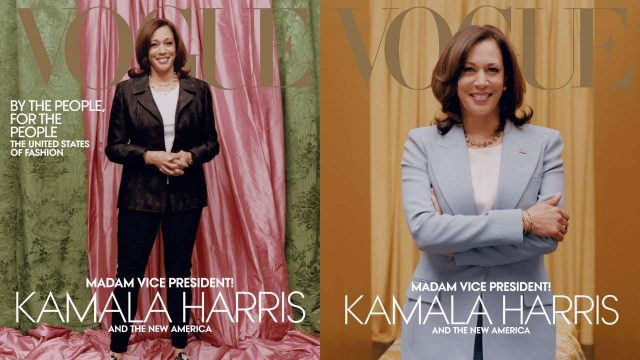 "Vogue Photoshoot of Kamla Harris brings in criticism for ""Whitewashing"""