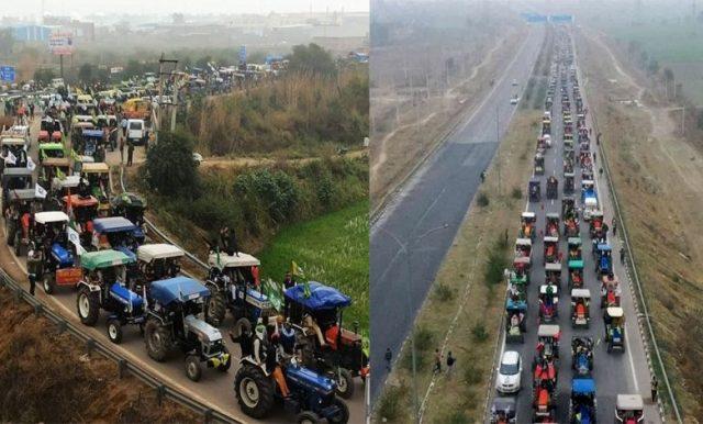 "Highways around Delhi blocked in ""Chakka Jam"""