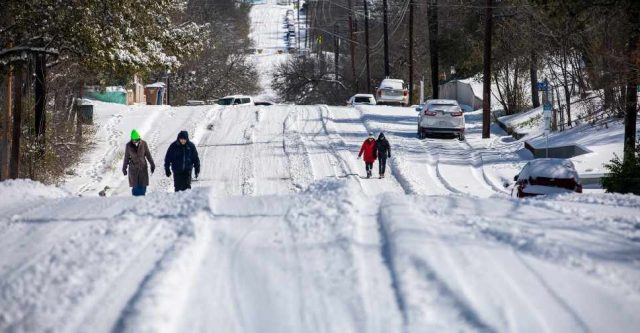 Texas: Cold snap leaves one dead, over 4 million without power