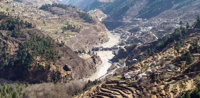 Joshimath: Massive flood as glacier breaks off 150 labourers missing