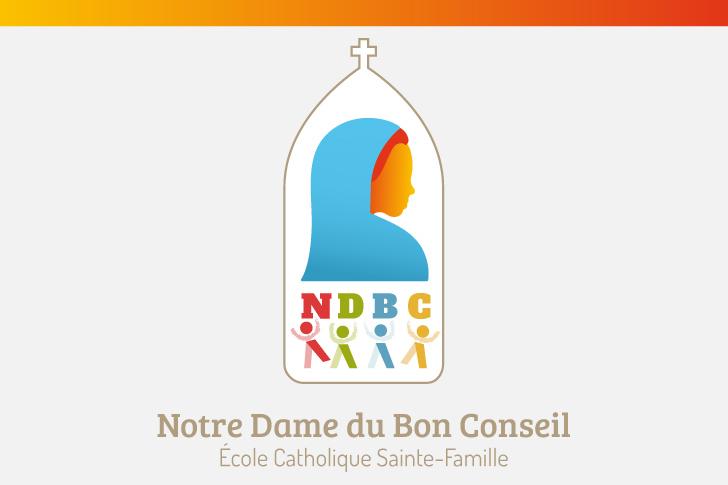 Logo école Notre Dame du Bon Conseil  3