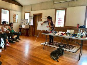 Fox Haven Farm Fresh Herb CSA Teaching