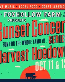 Harvest Hoedown October 11 October 12
