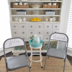 Spray And Chalk Paint Folding Chair Makeover Fox Hollow Cottage