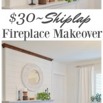 How To Install Shiplap Above A Fireplace Fox Hollow Cottage