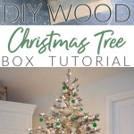 How To Make A Wood Christmas Tree Box Collar Fox Hollow Cottage