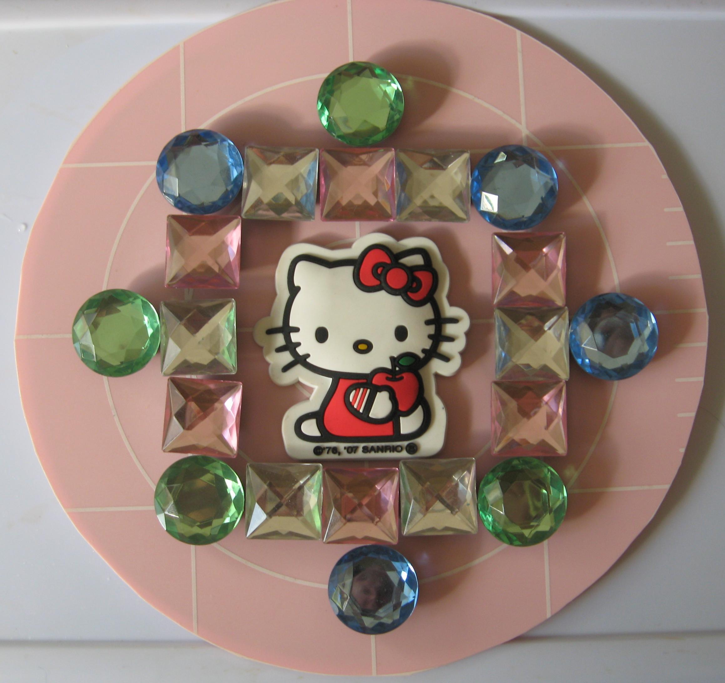 Hello Kitty Mandala by Hugh B. Fox III