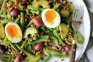 Vegetarische maaltijdsalade