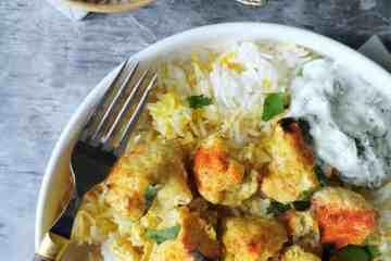 Vegetarische tandoori curry