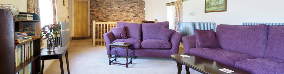 sitting-room Follow Coach House bed and breakfast Buxton