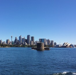 Ferry ride in Sydney