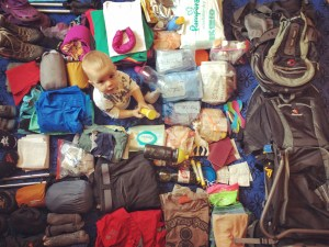 Packing for Tour du Mont Blanc